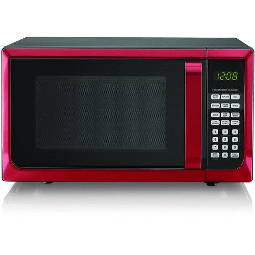 Hamilton Hamilton Beach 0.9 Cu. Ft. Stainless Steel Countertop Microwave Oven