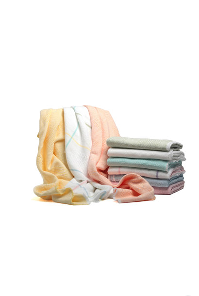Solid Block Baby Blankets