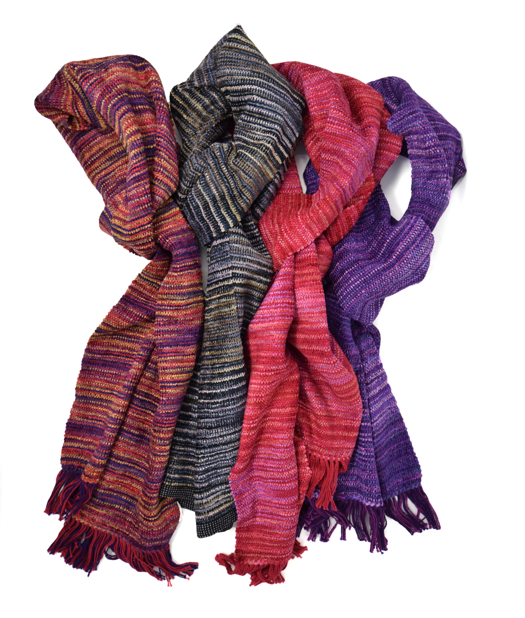 Chenille Scarves-2