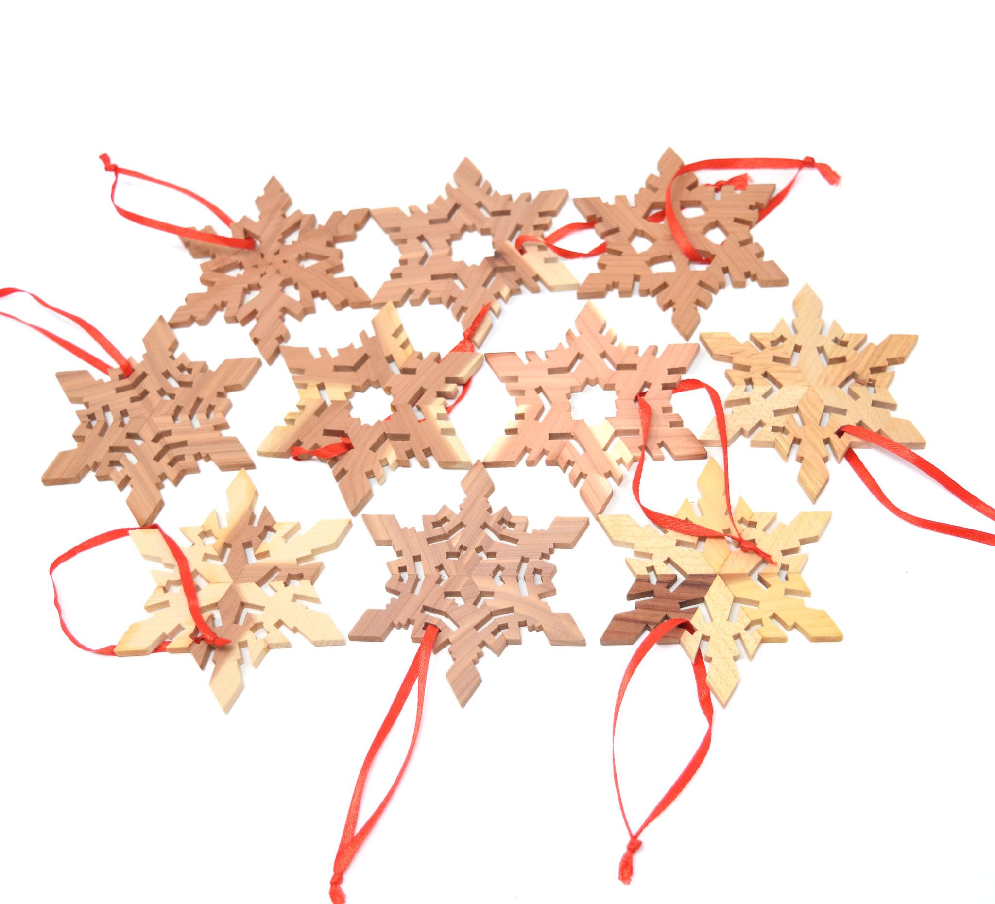 Snowflake Ornaments-1