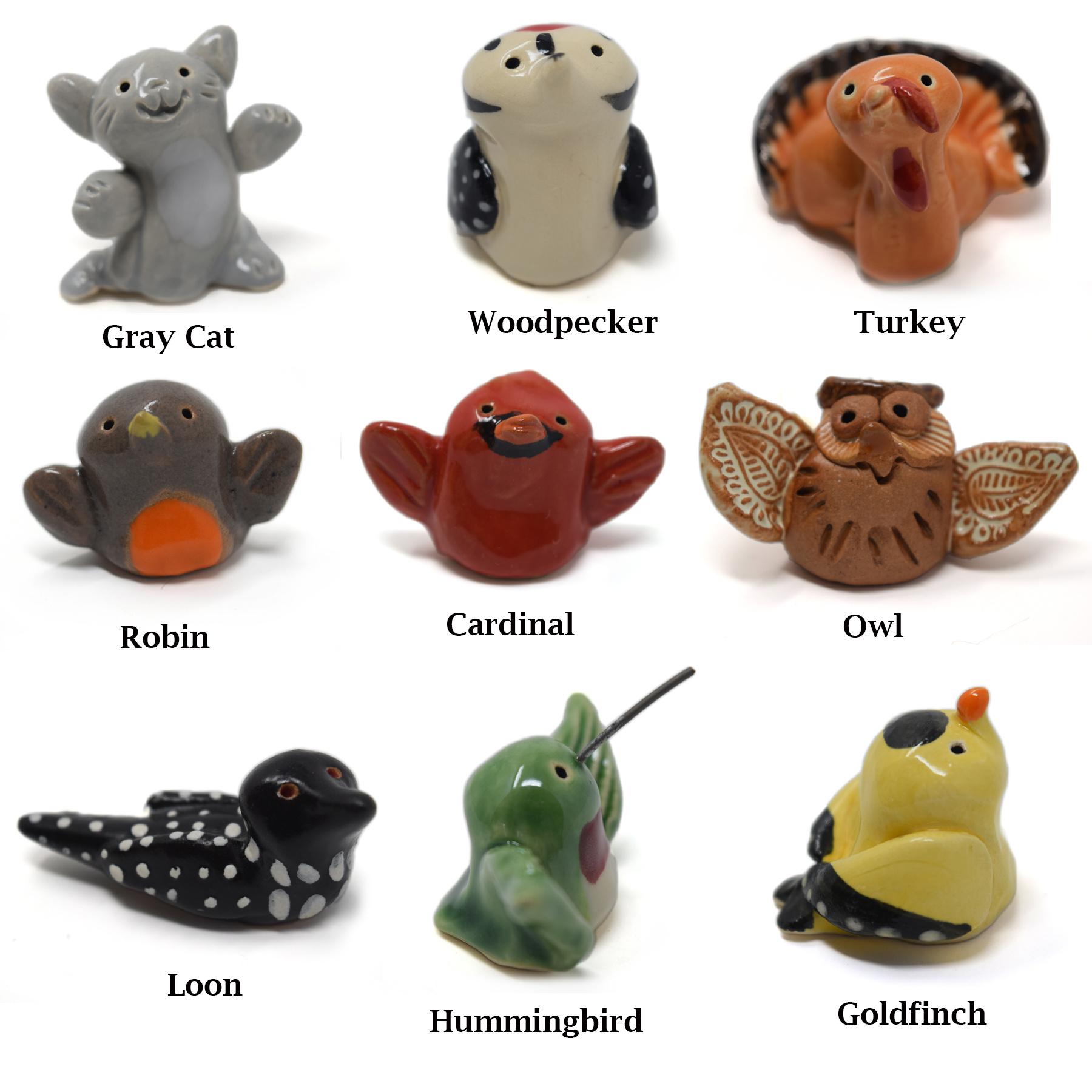 Little Guys Ceramic Animals-3