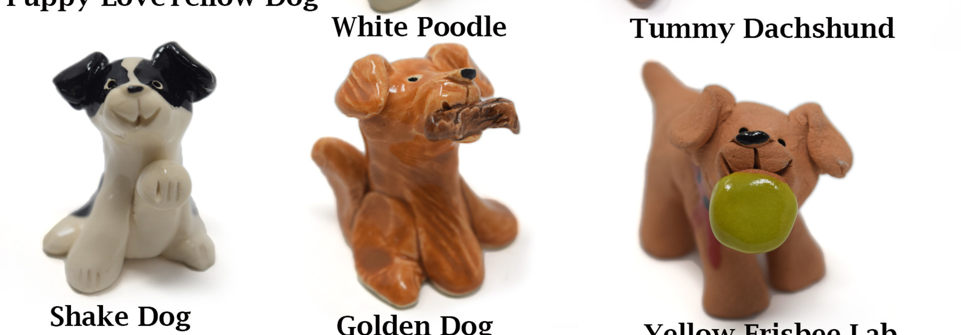 Little Guys Ceramic Animals