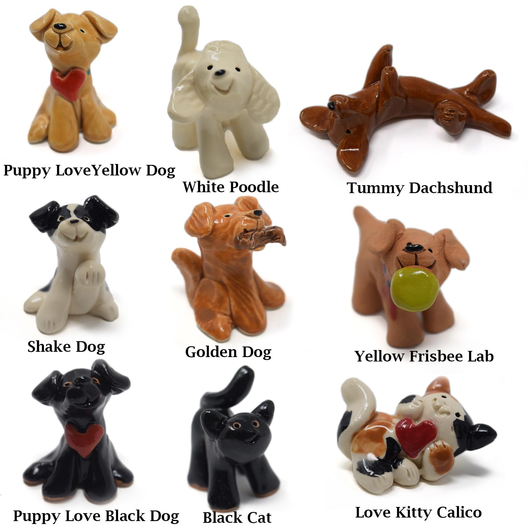 Little Guys Ceramic Animals-1