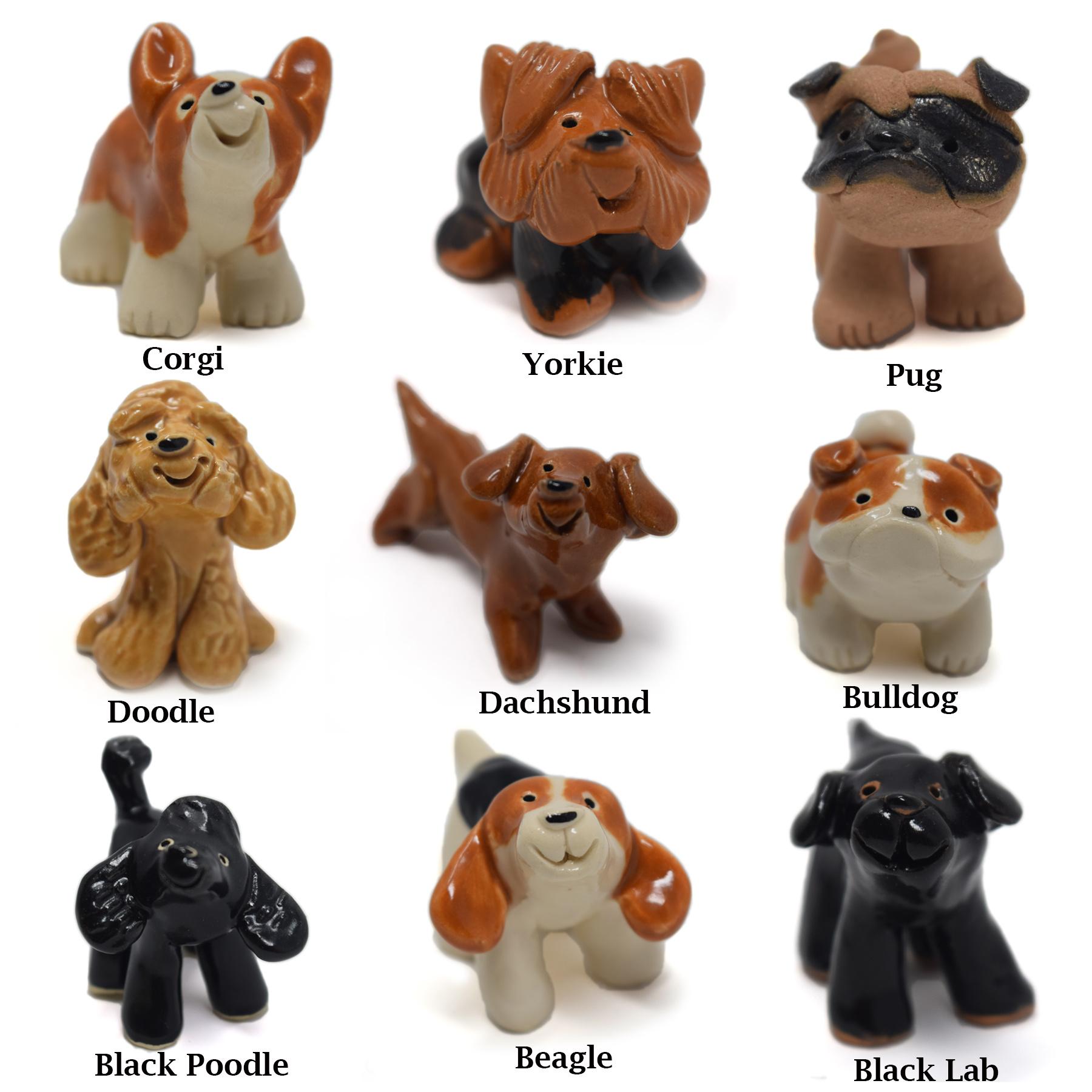 Little Guys Ceramic Animals-5