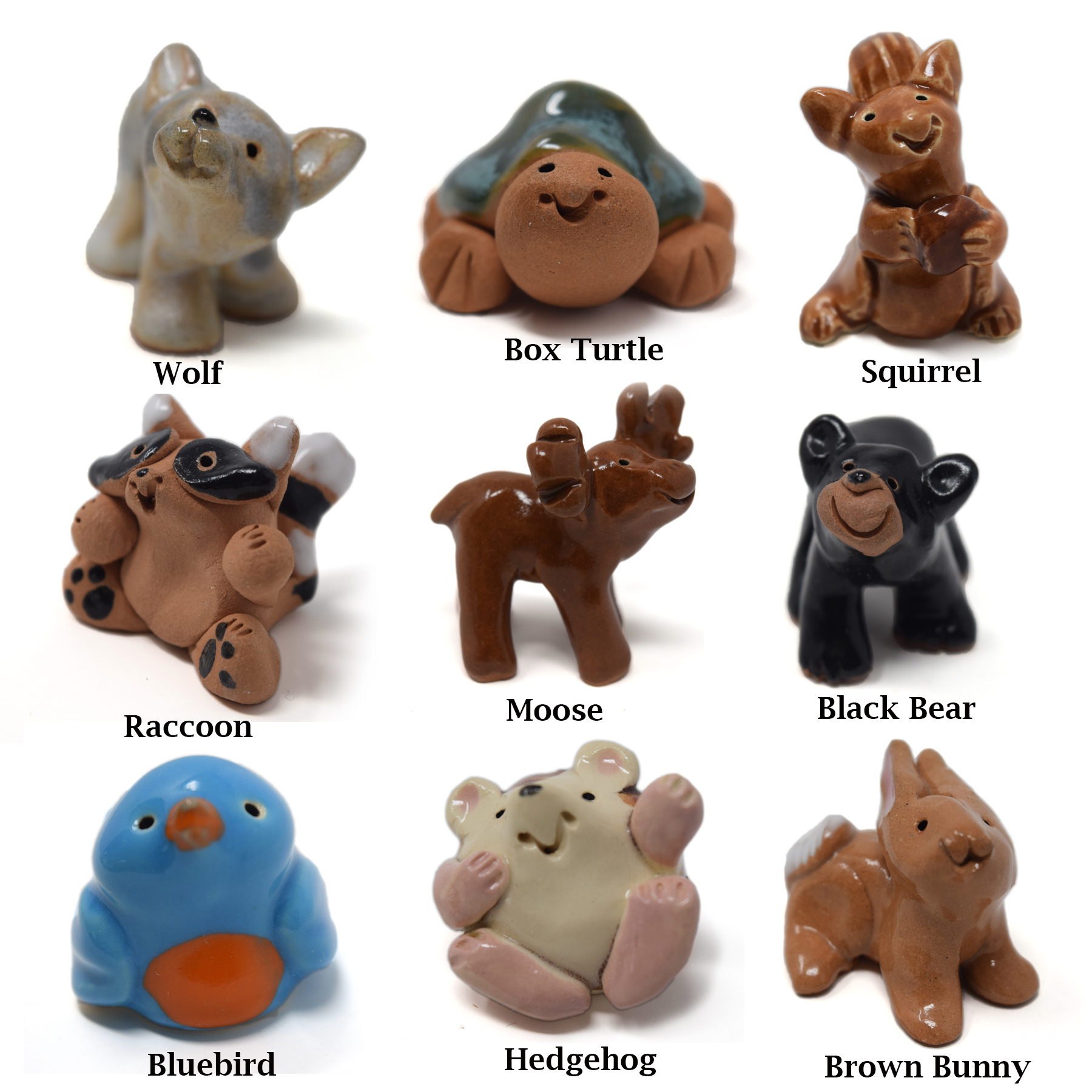 Little Guys Ceramic Animals-7