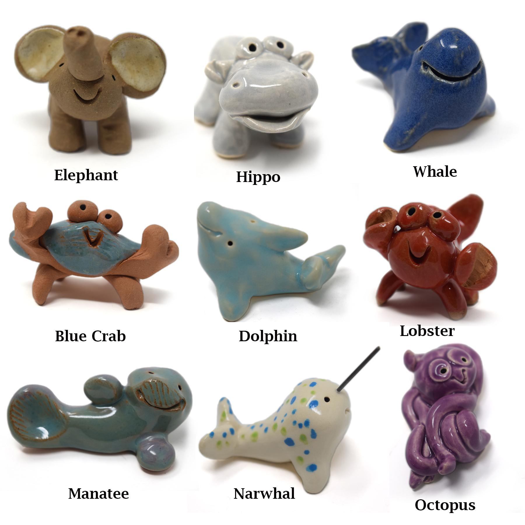 Little Guys Ceramic Animals-9