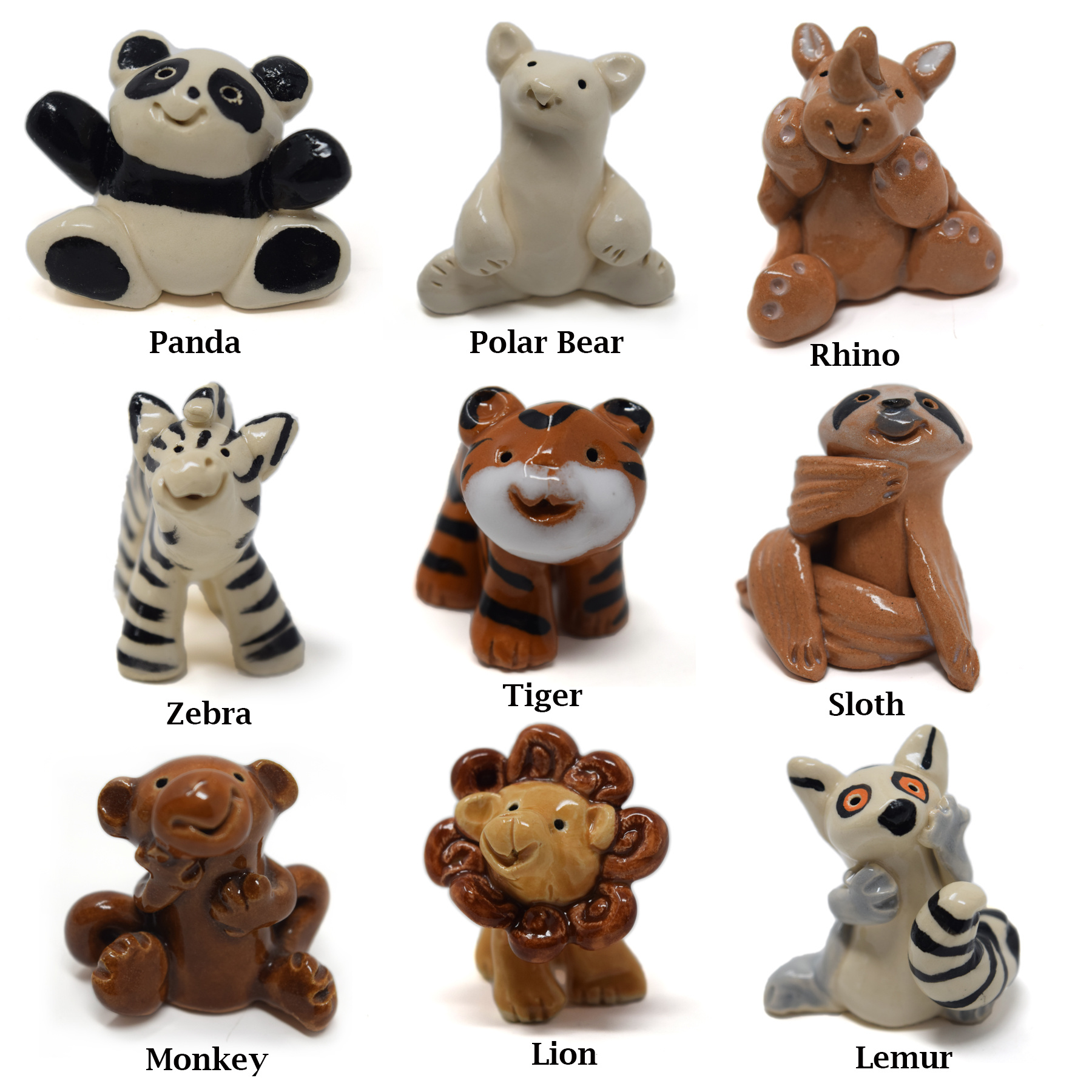 Little Guys Ceramic Animals-10