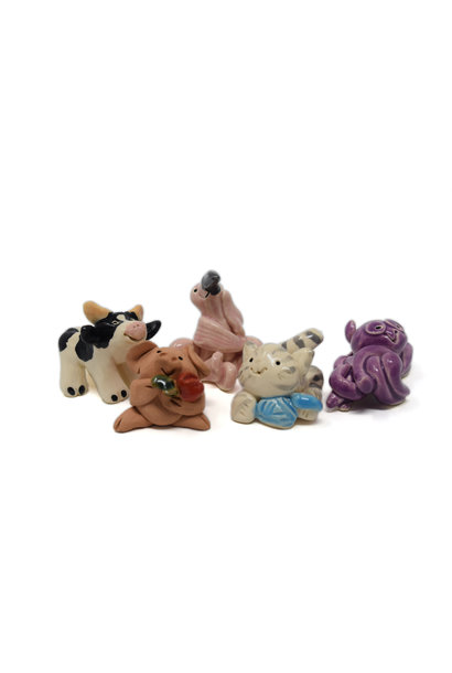 Little Guys Ceramic Animals