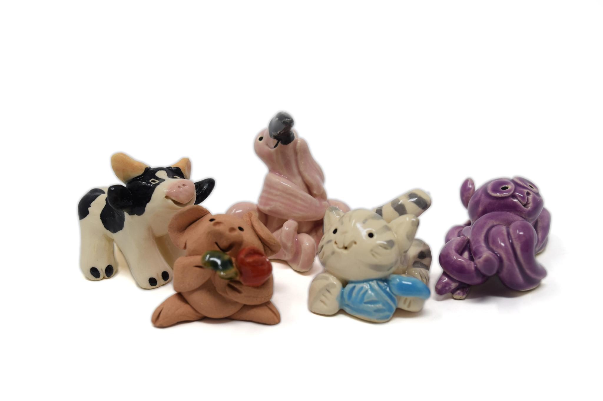 Little Guys Ceramic Animals-2