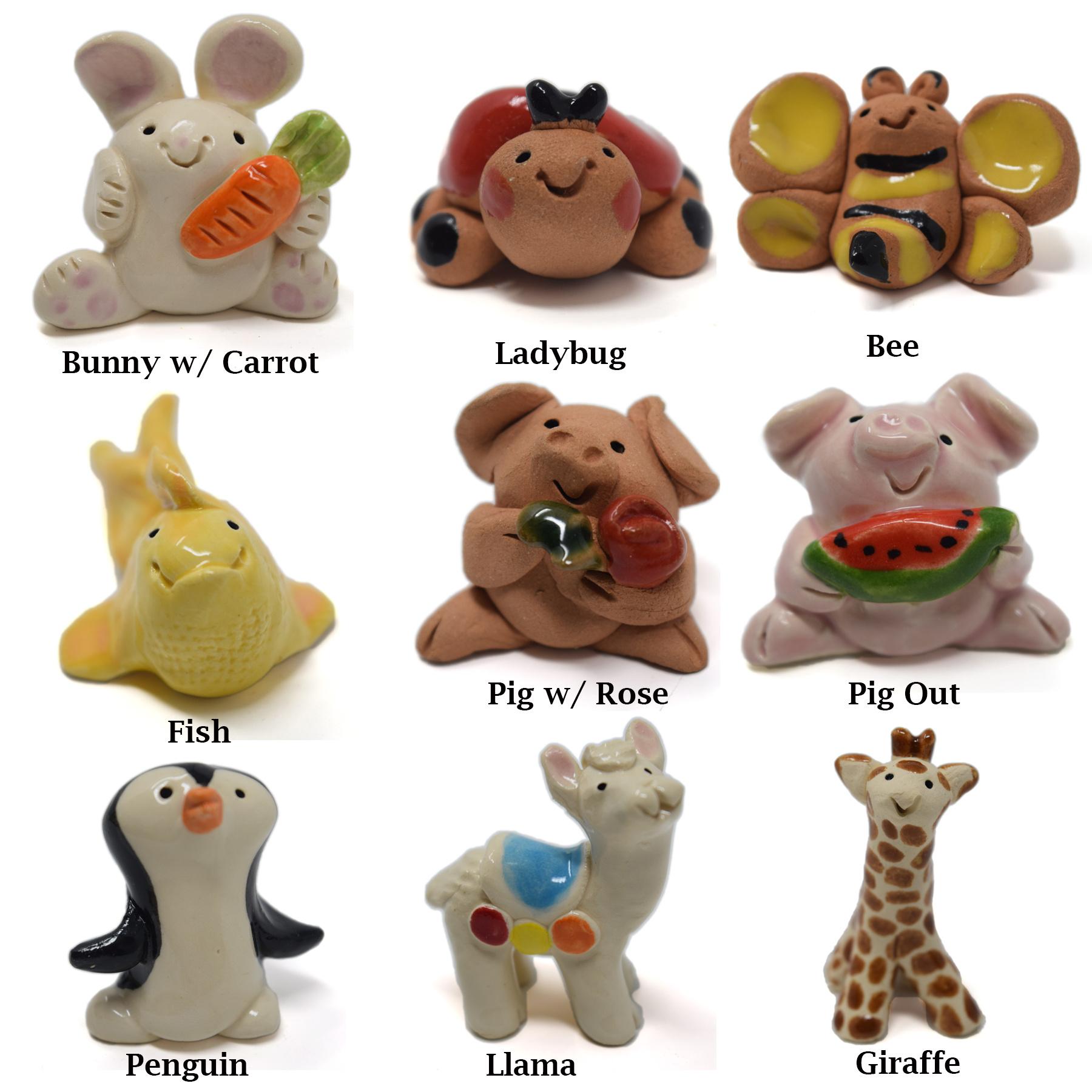 Little Guys Ceramic Animals-11