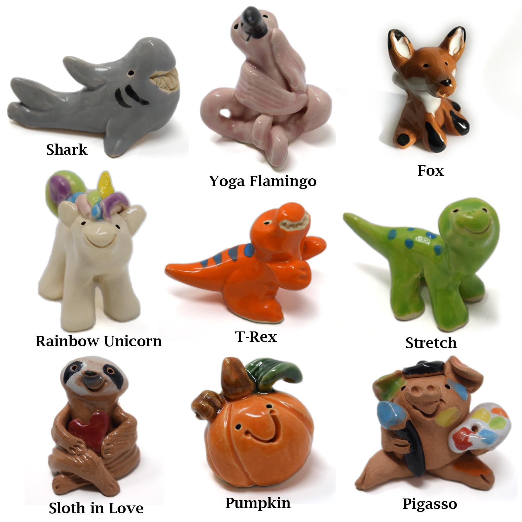 Little Guys Ceramic Animals-12