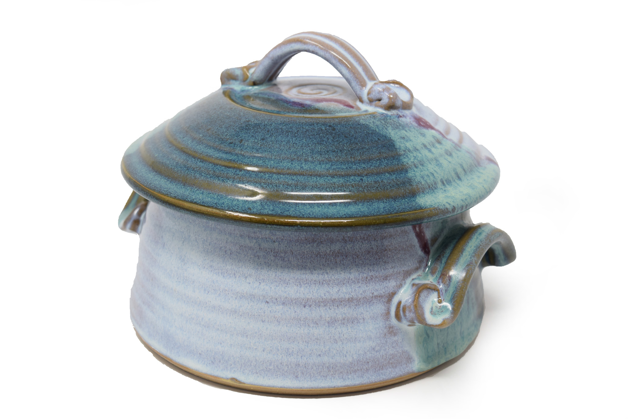 Large Casserole with Lid-1