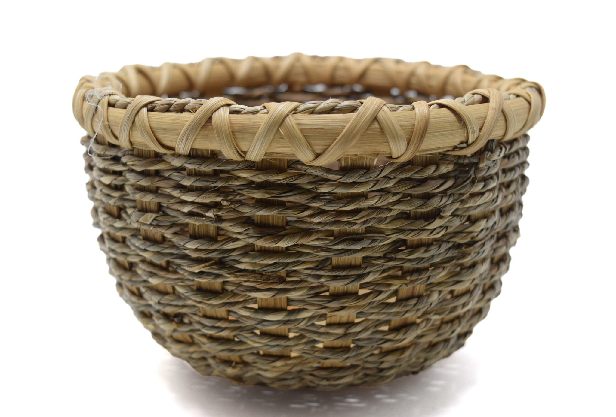 Seagrass Bowl Basket-1