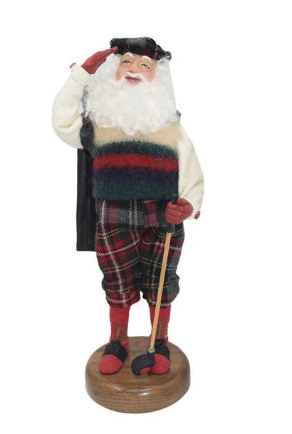 Golfer Santa