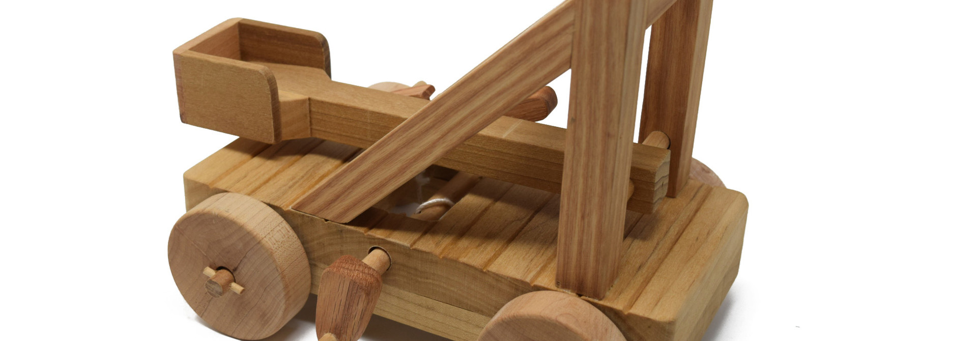 Wooden Catapult Toy