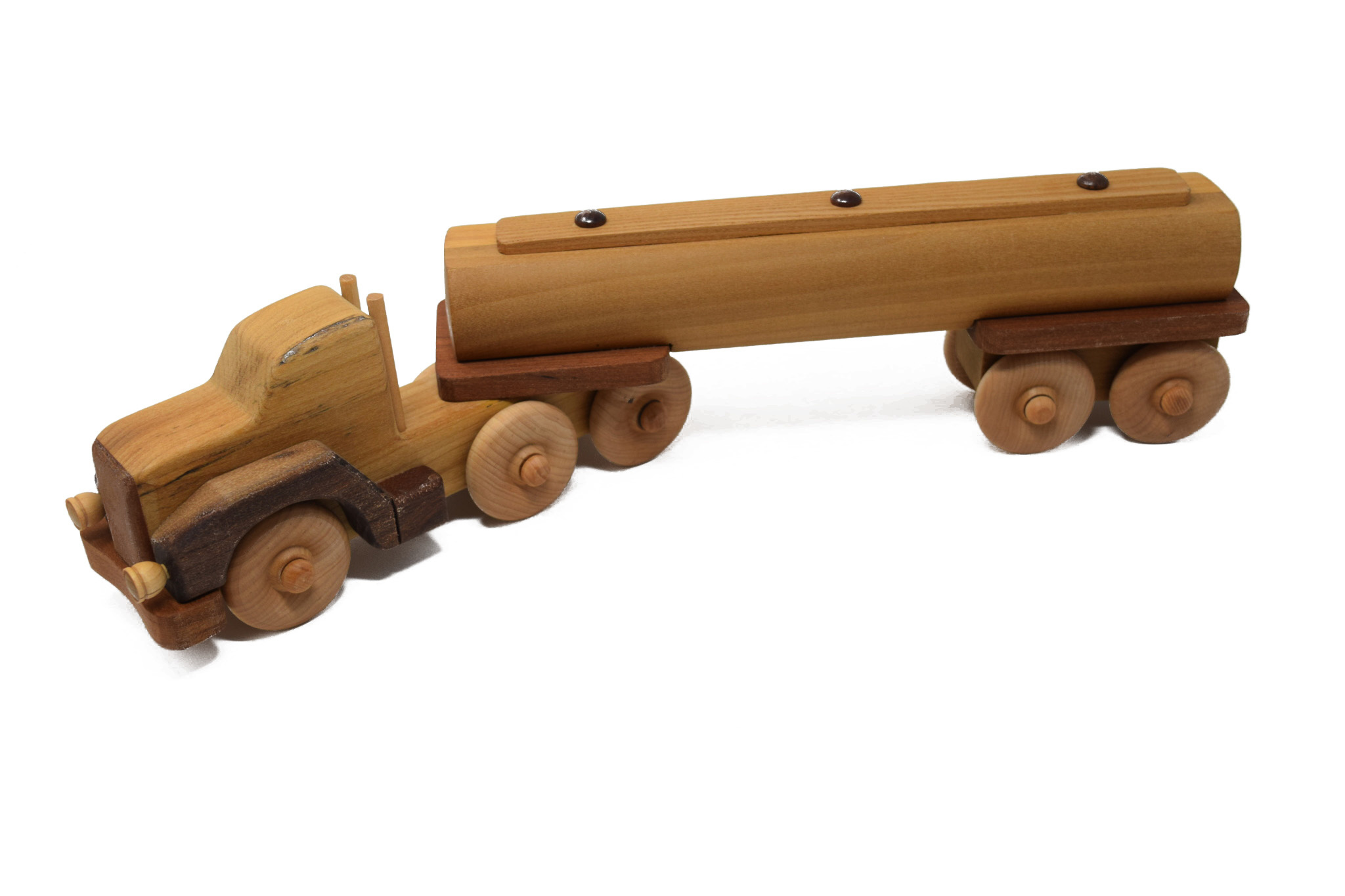Wooden Tanker Truck Toy-1
