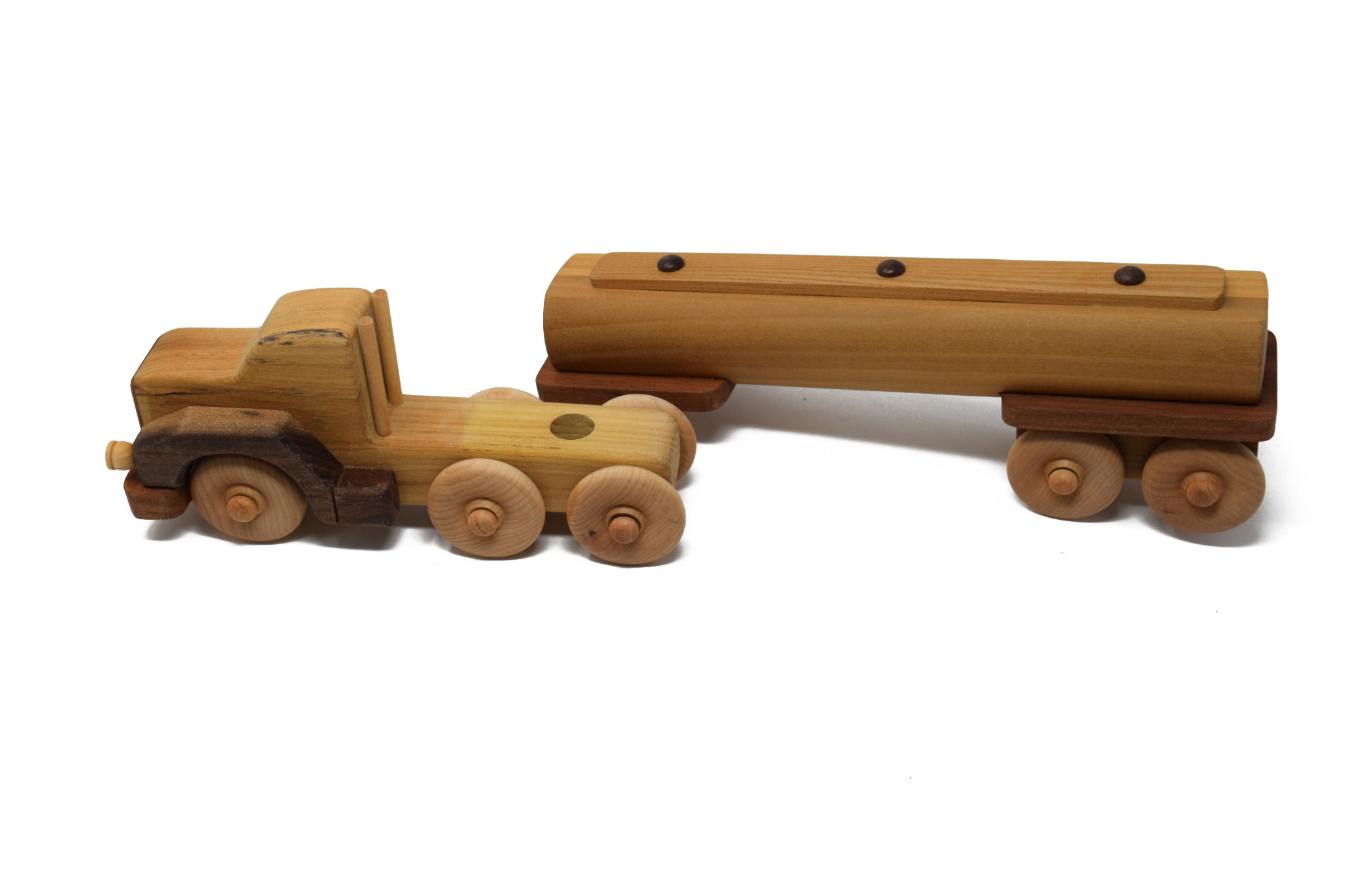 Wooden Tanker Truck Toy-2