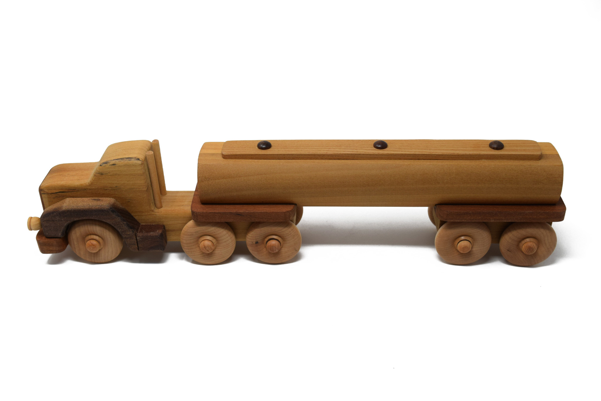 Wooden Tanker Truck Toy-3