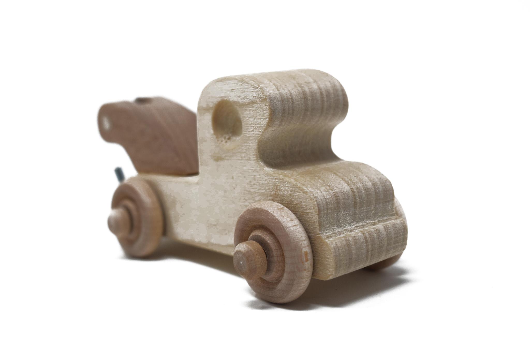 Wooden Wrecker Toy-2