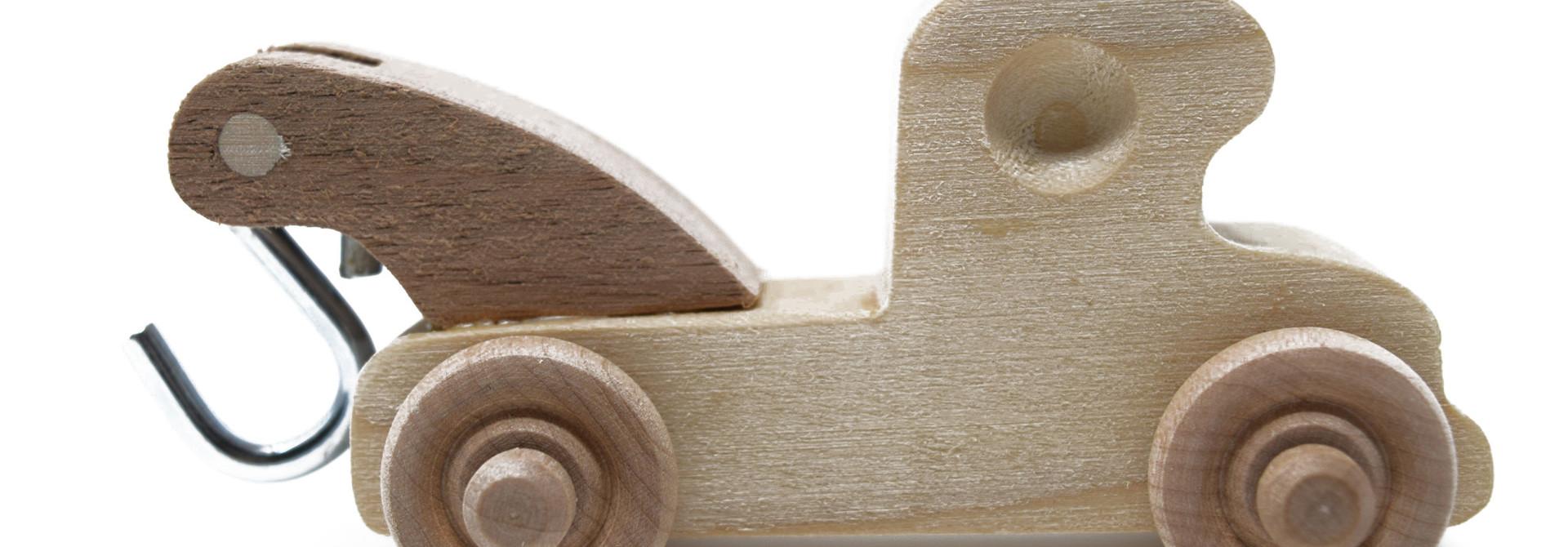 Wooden Wrecker Toy
