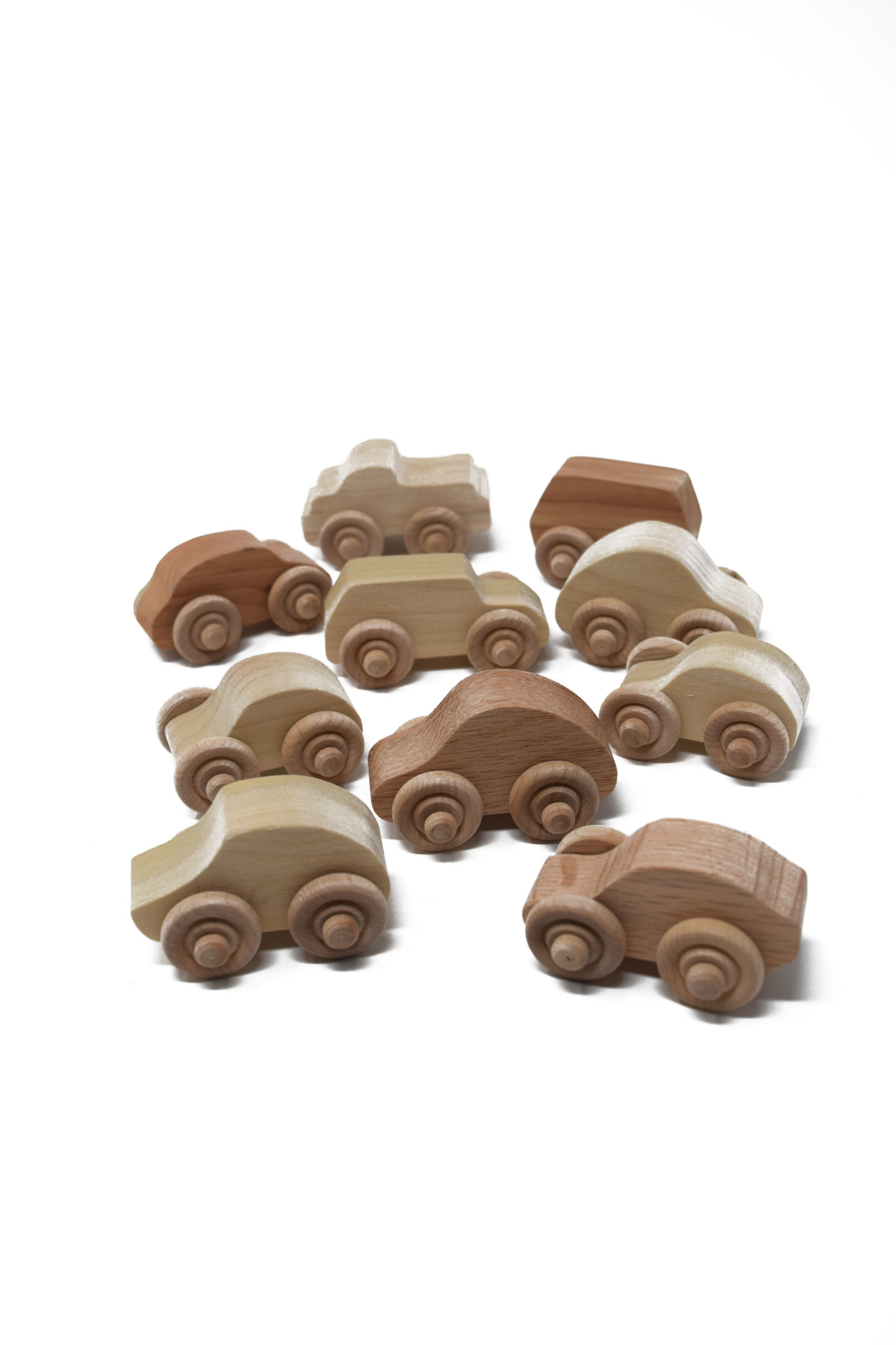 Mini Wooden Toy Cars-1