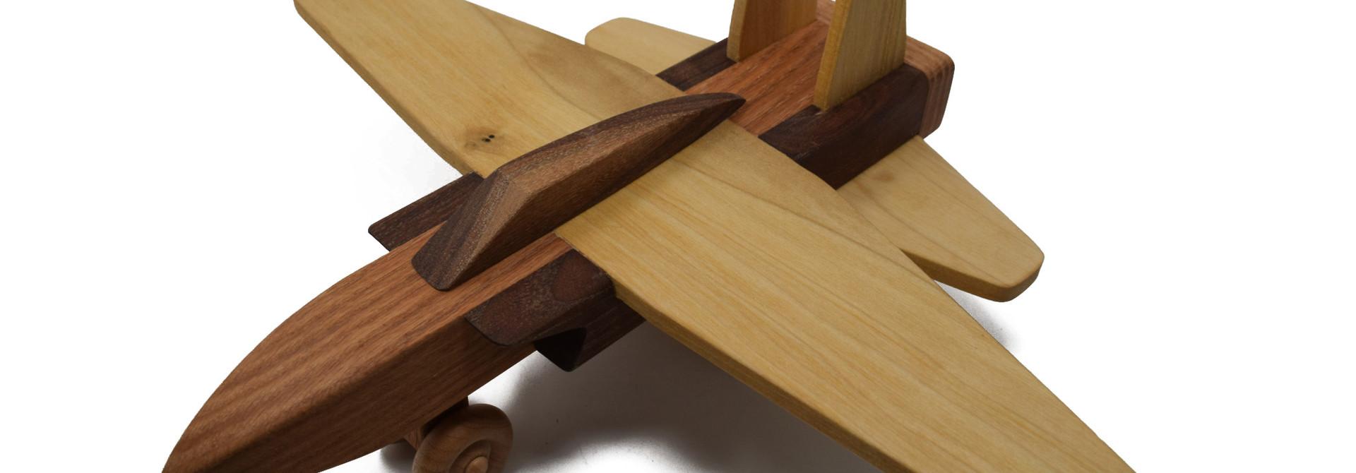 Wooden Jet Toy