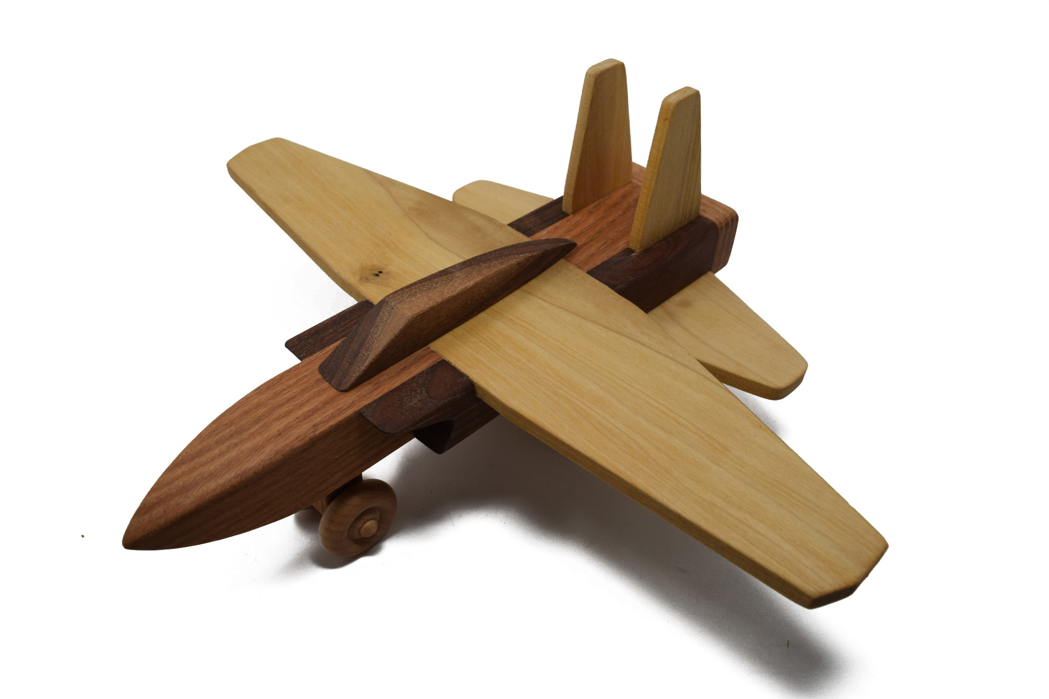 Wooden Jet Toy-1
