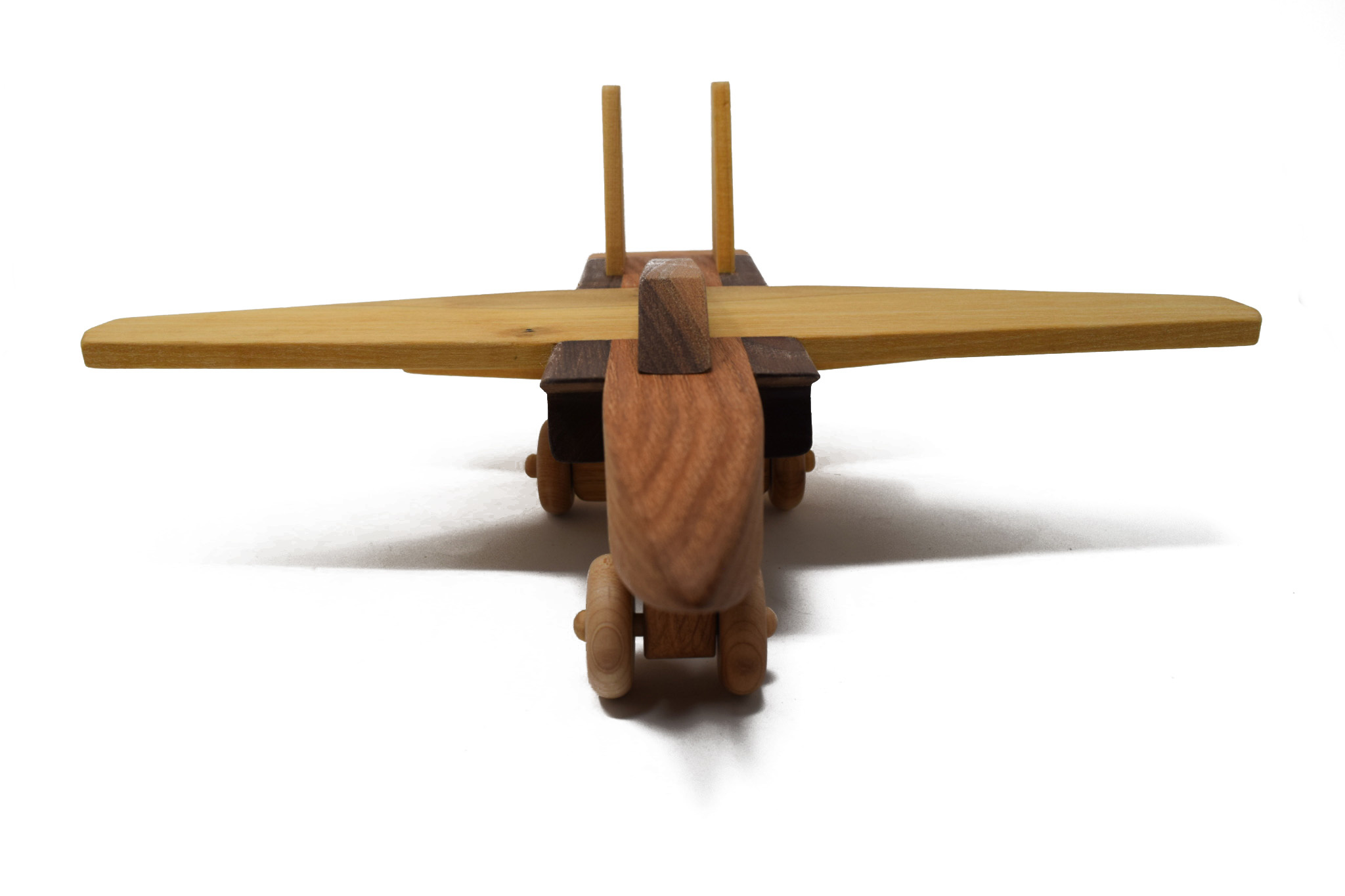 Wooden Jet Toy-3