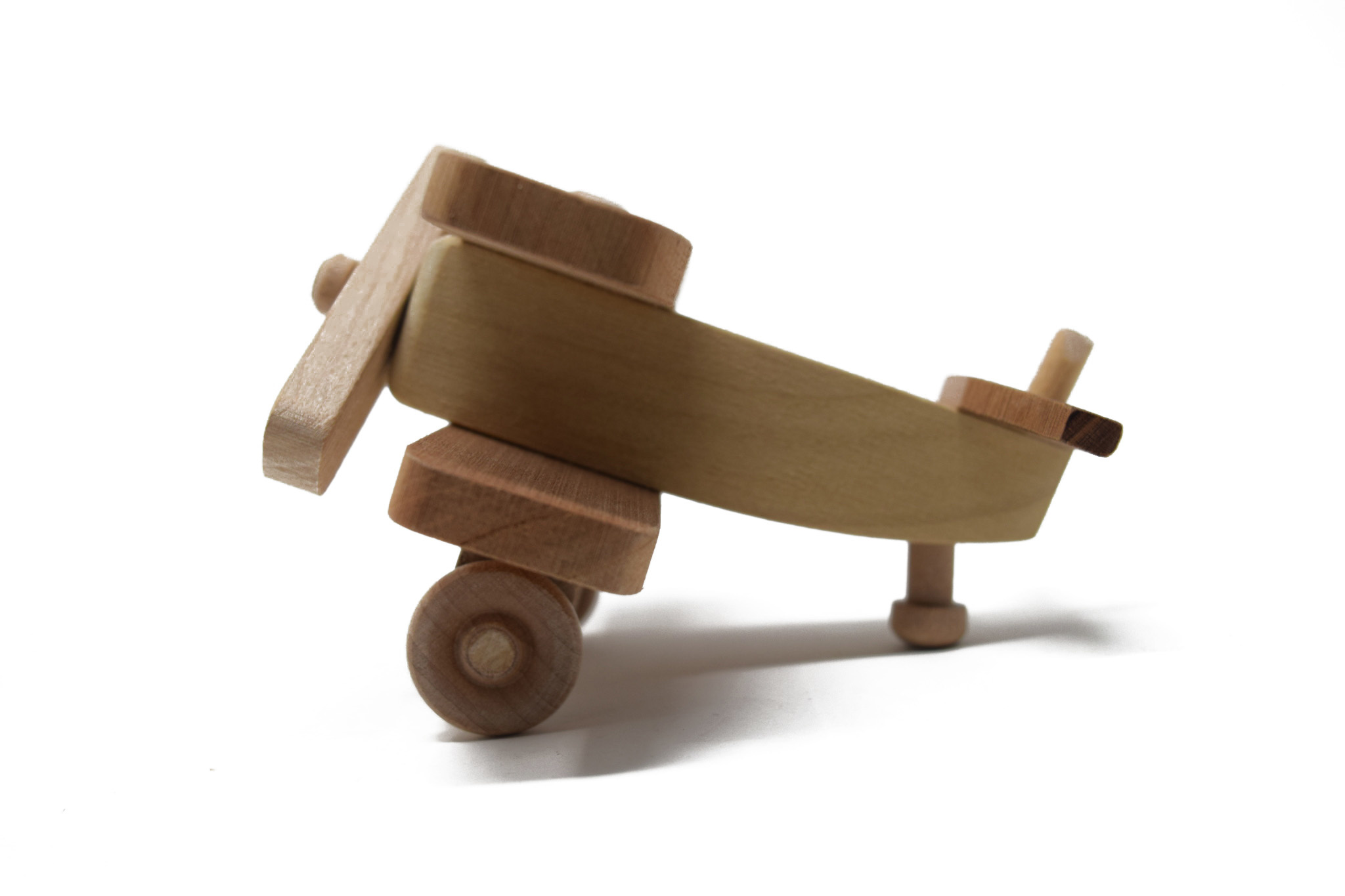 Wooden Airplane Toy-2