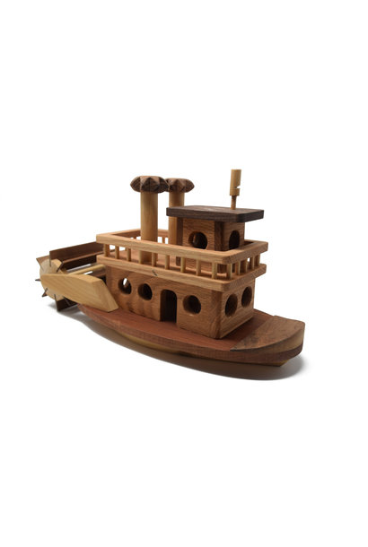 Wooden Sternwheeler Toy