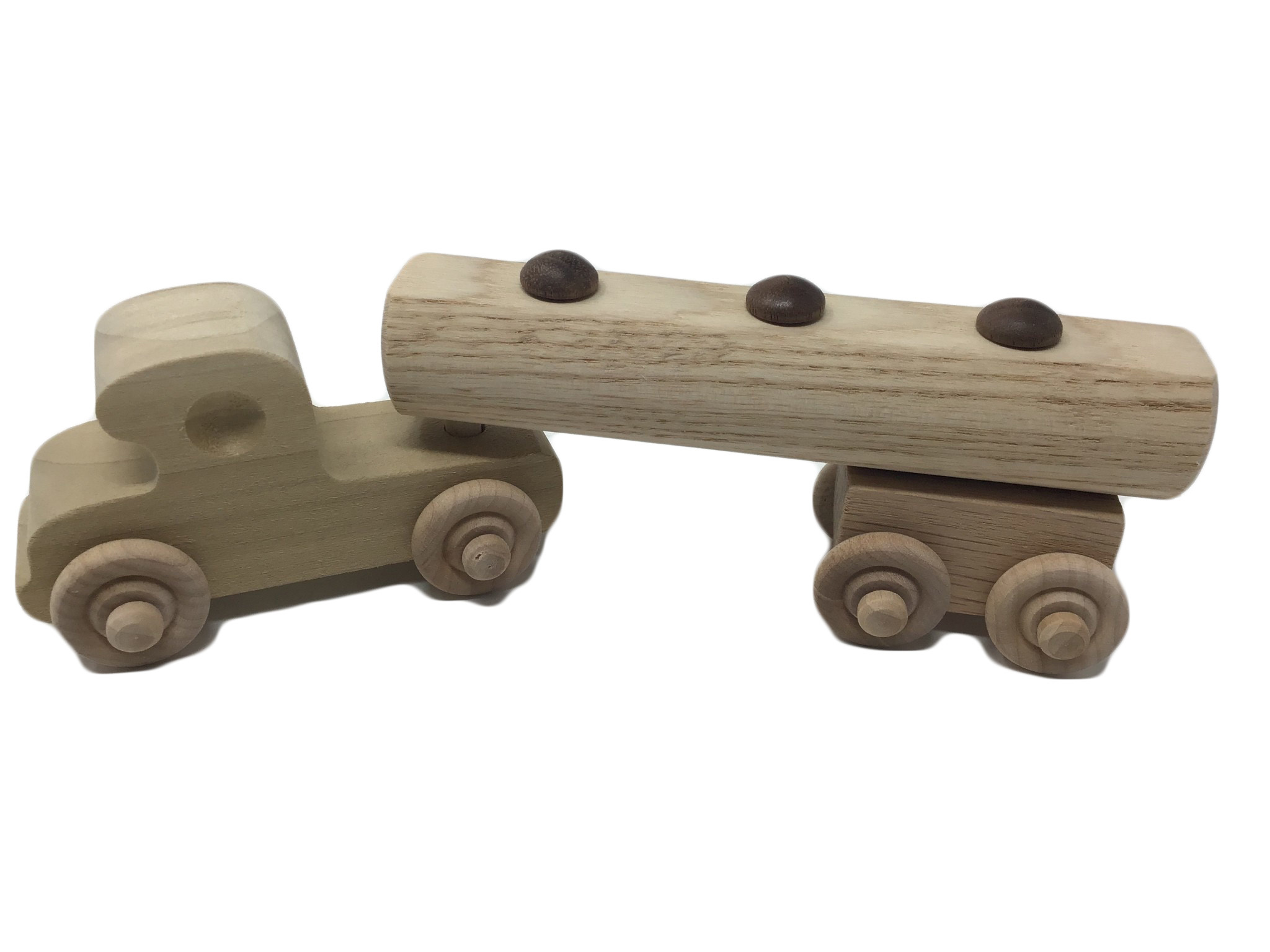 Wooden Tanker Truck Toy-4