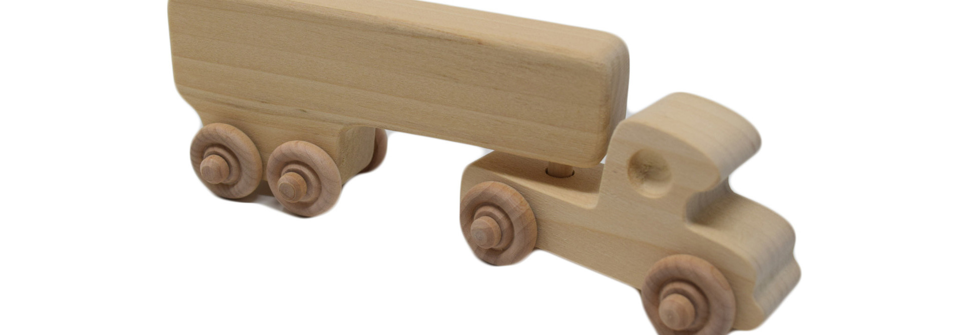 Wooden Box Truck Toy