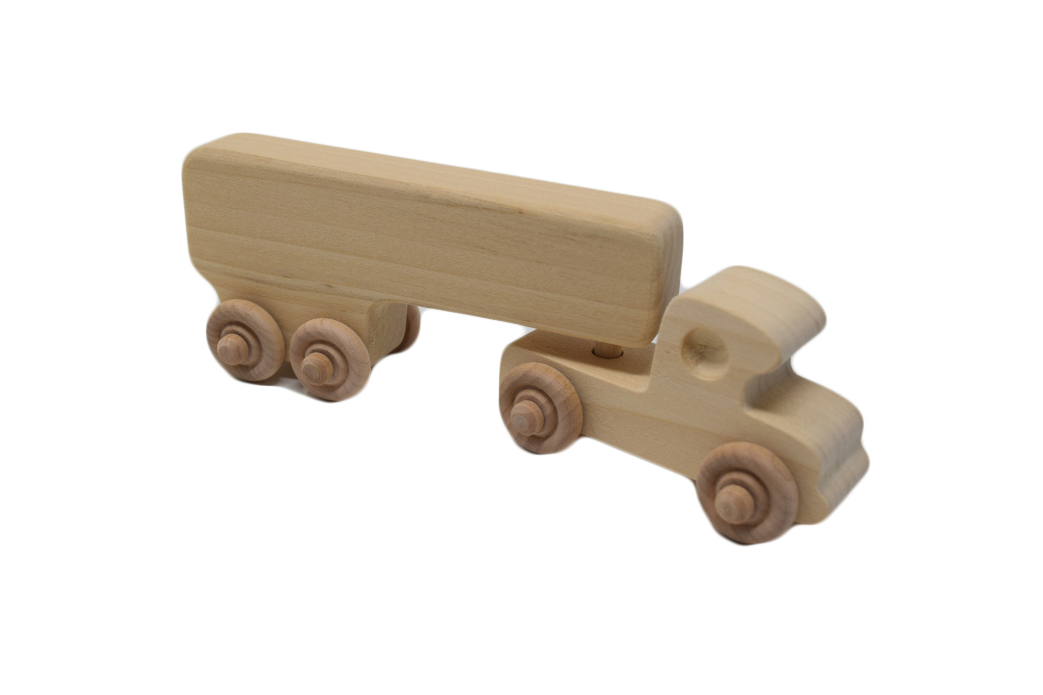 Wooden Box Truck Toy-1