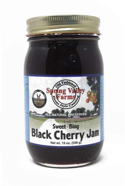 Sweet Bing Black Cherry Jam
