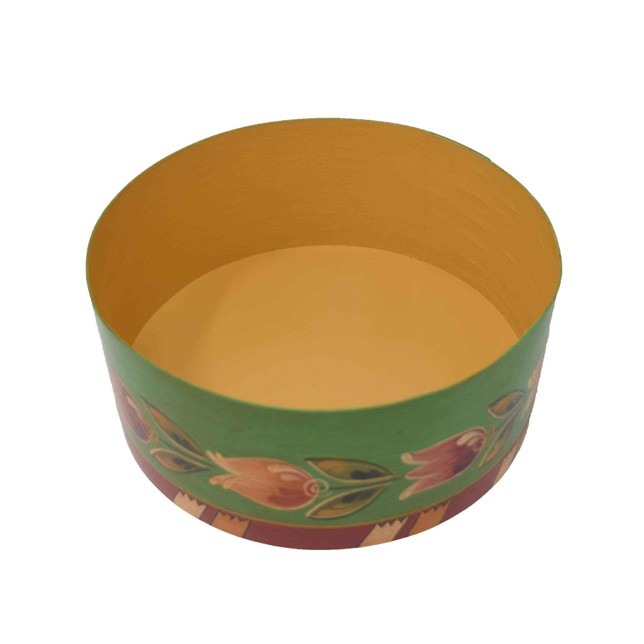 Round Green Wedding Box-2