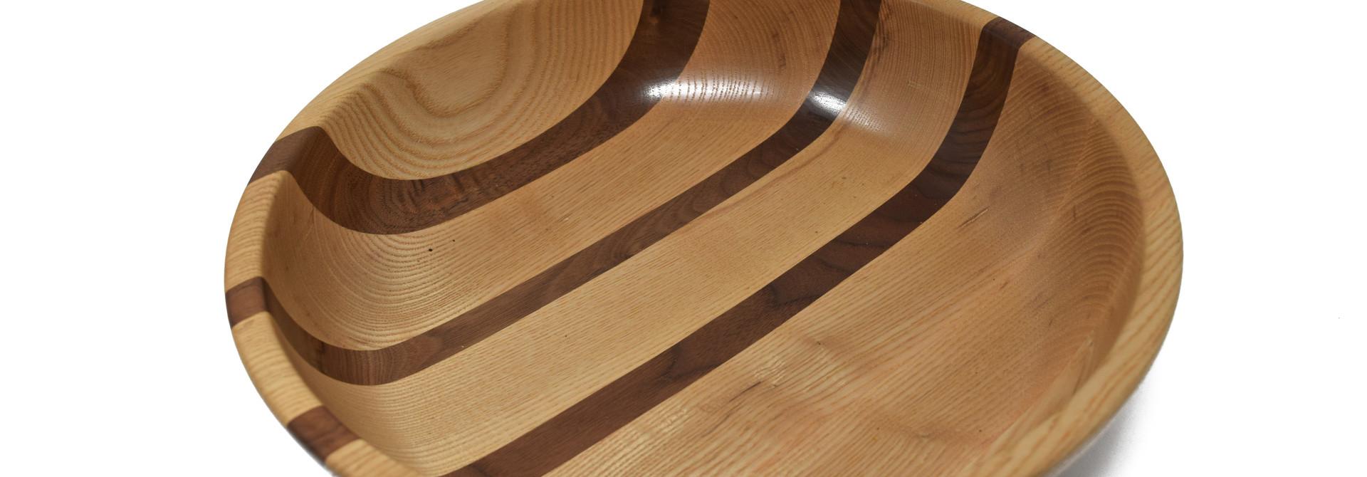 Wood Serving Bowl