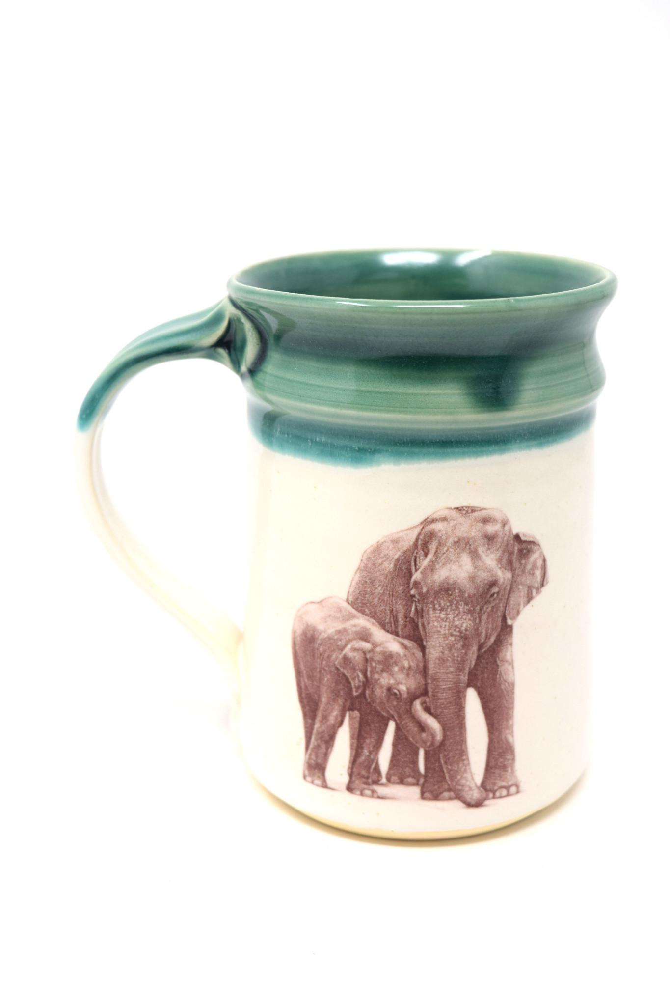 Elephant with Baby Mug-1