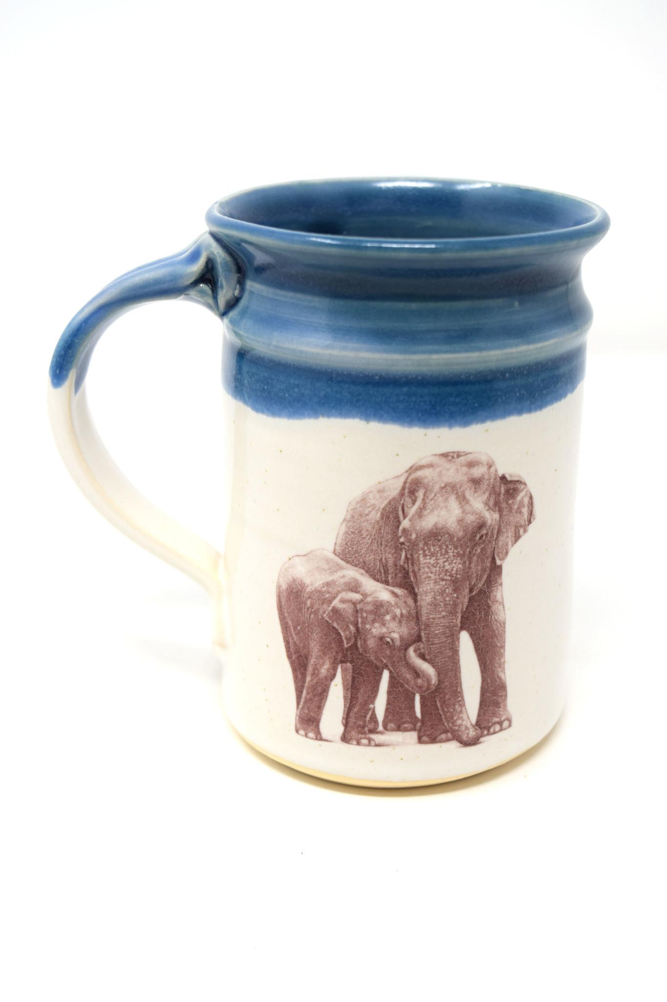 Elephant with Baby Mug-5