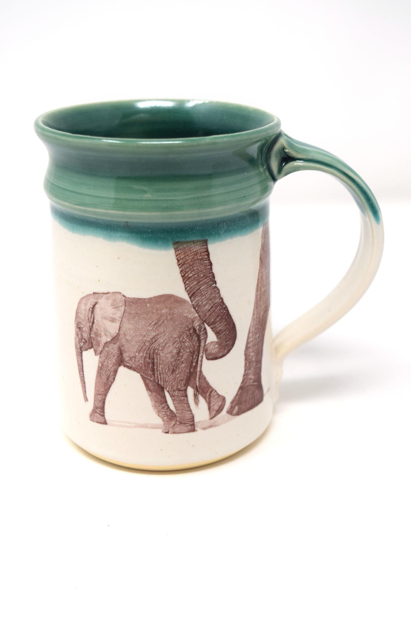 Elephant with Baby Mug-3