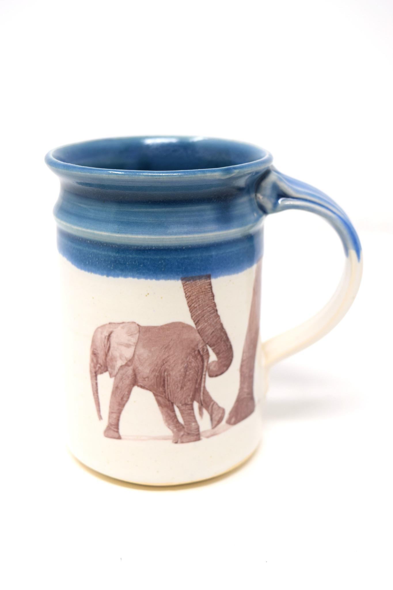 Elephant with Baby Mug-4