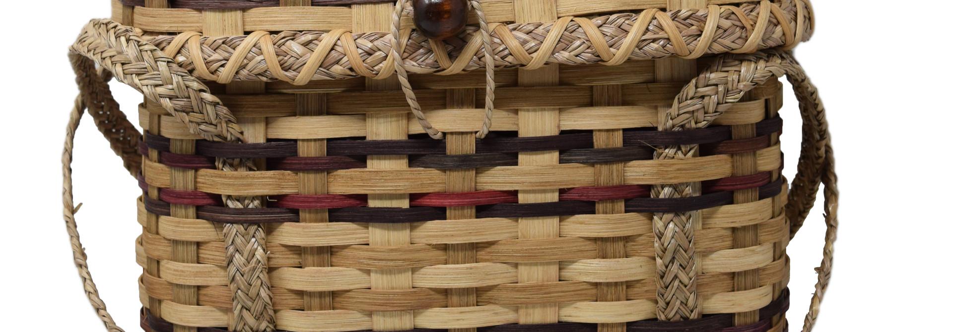 Haitian Tote Basket