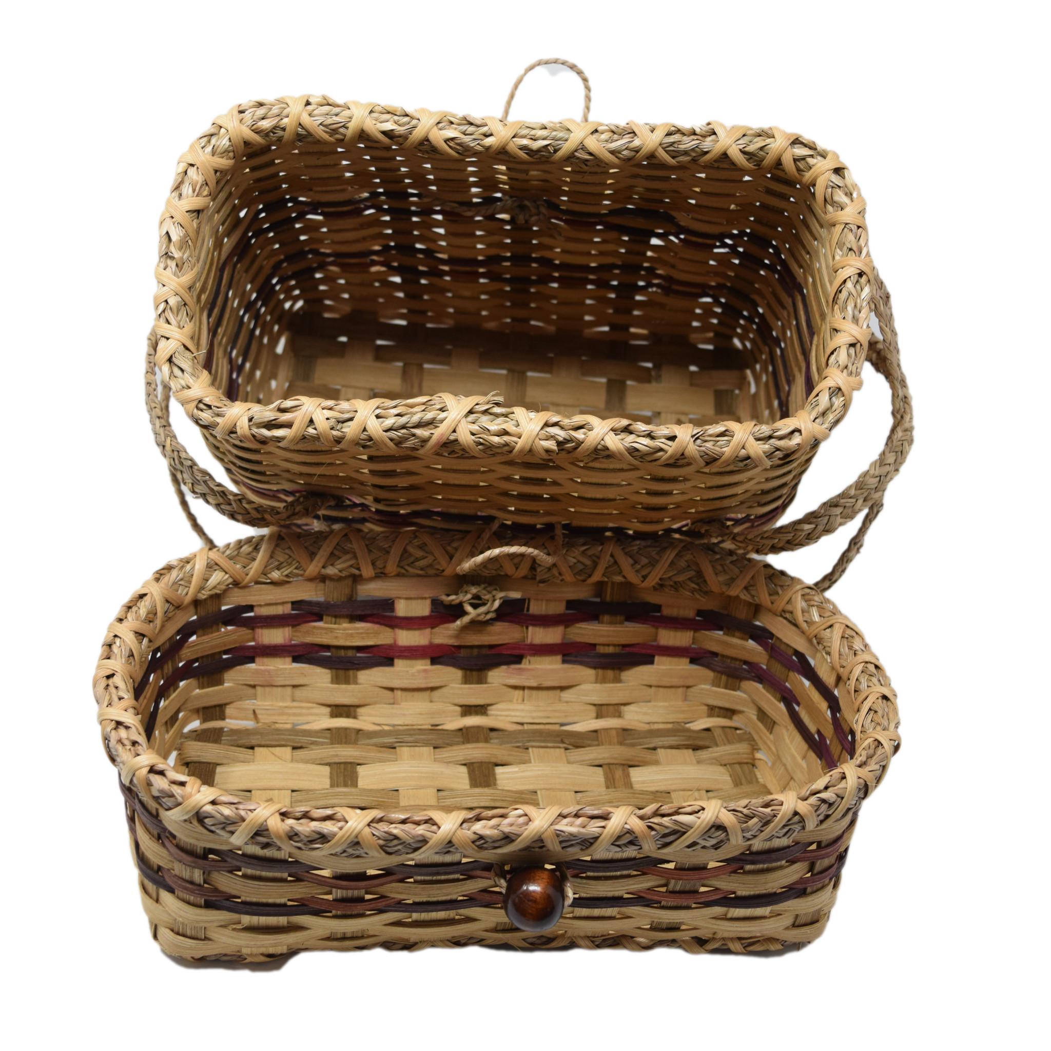 Haitian Tote Basket-2