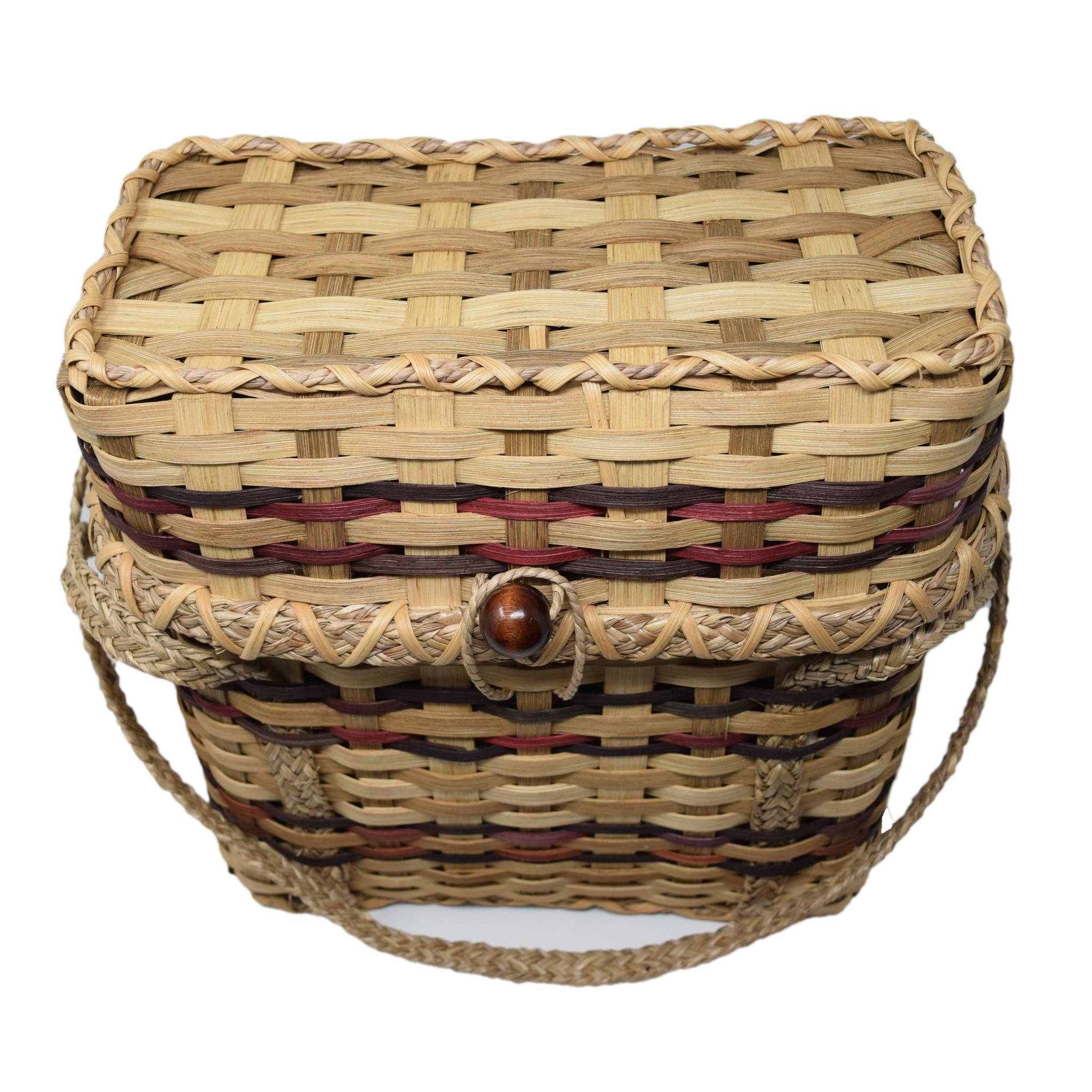 Haitian Tote Basket-4