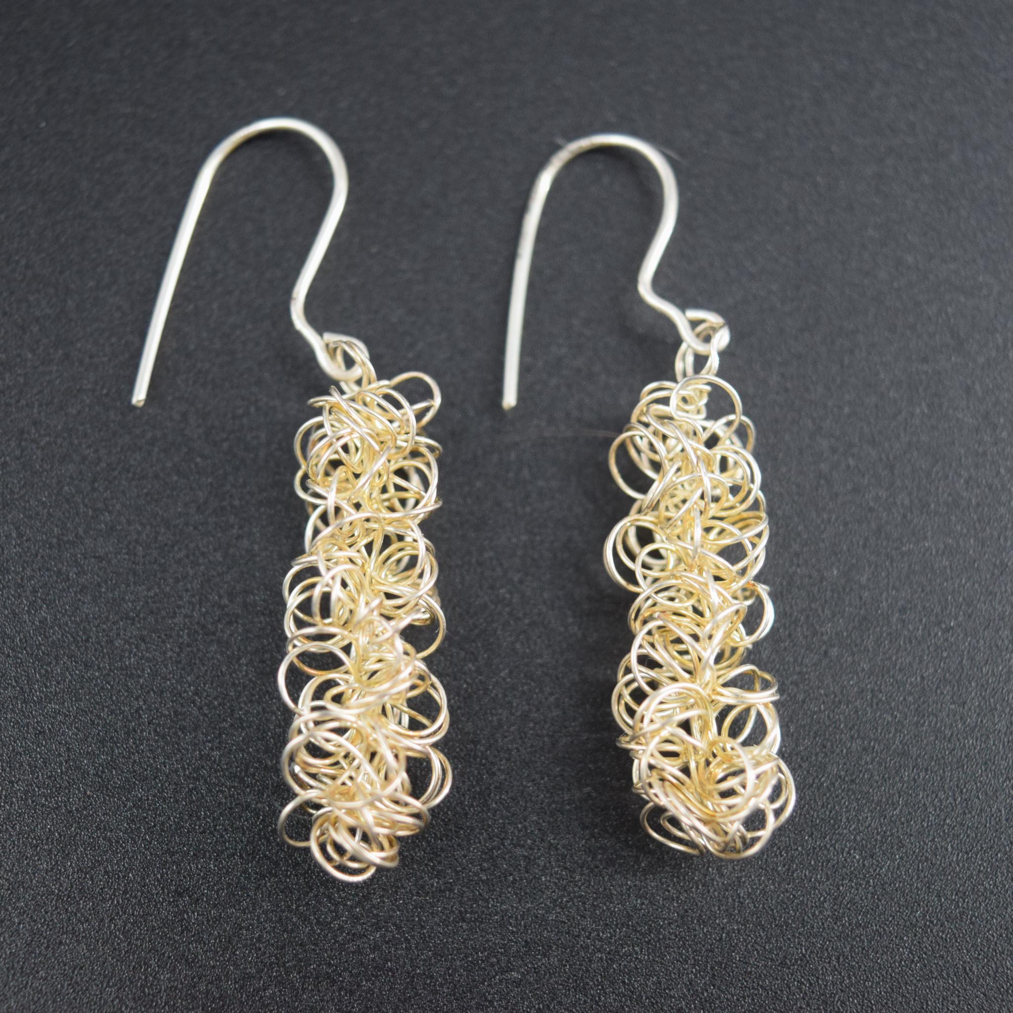 Sterling Wire Earring-2