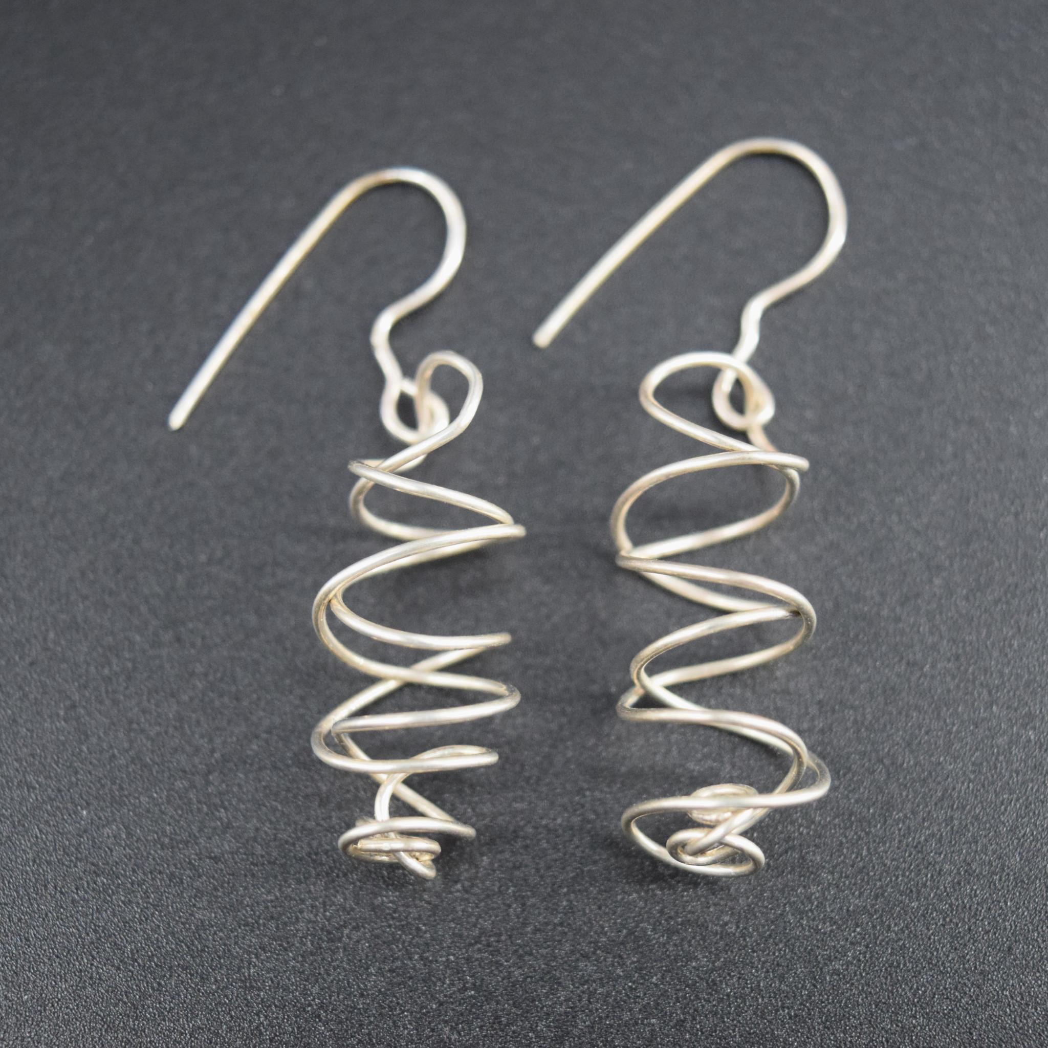 Sterling Wire Earring-1