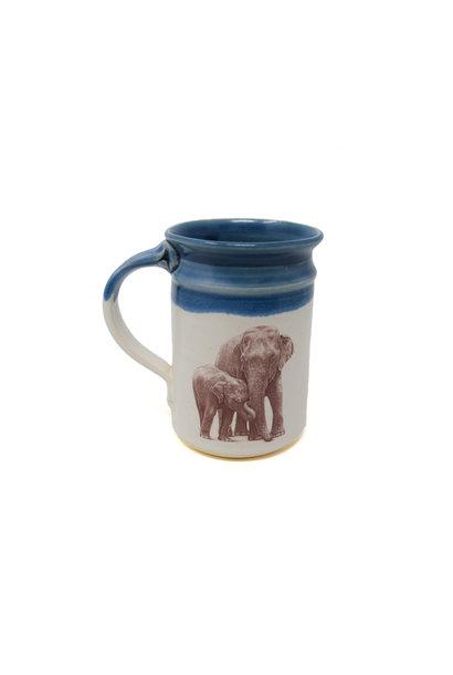 Elephant with Baby Mug