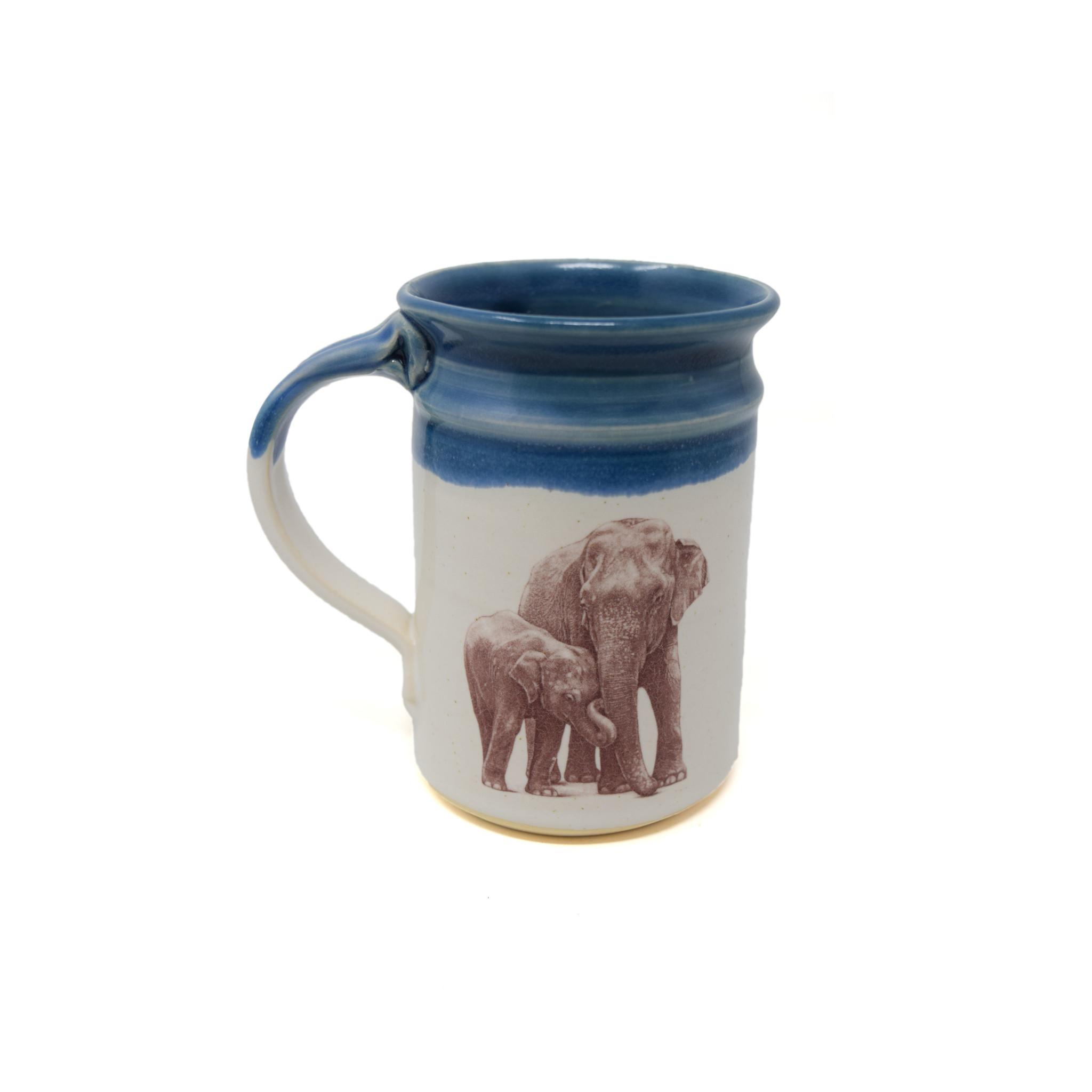 Elephant with Baby Mug-2
