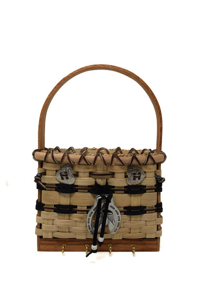 Horse Lover's Key/Peg Basket