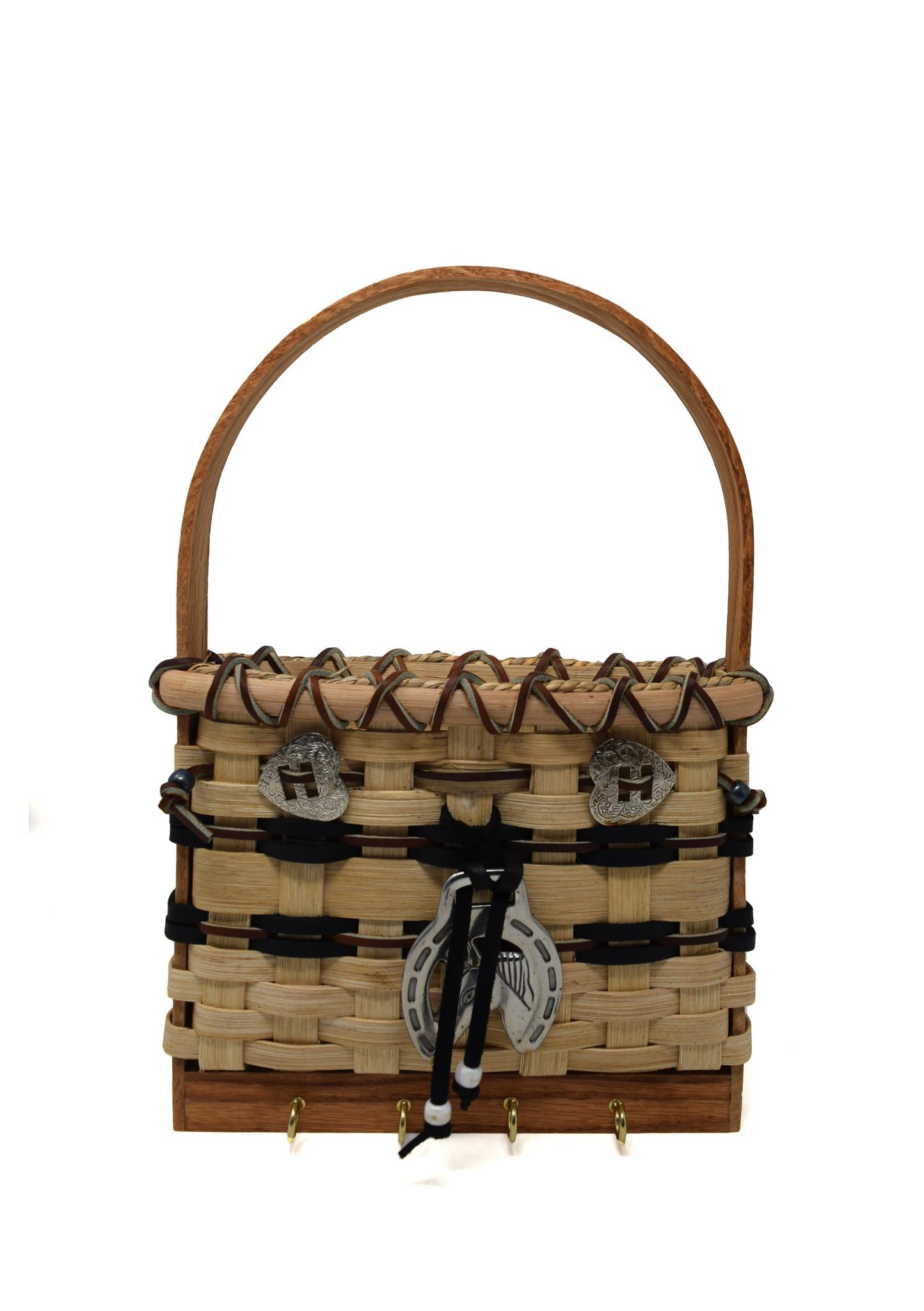 Horse Lover's Key/Peg Basket-1