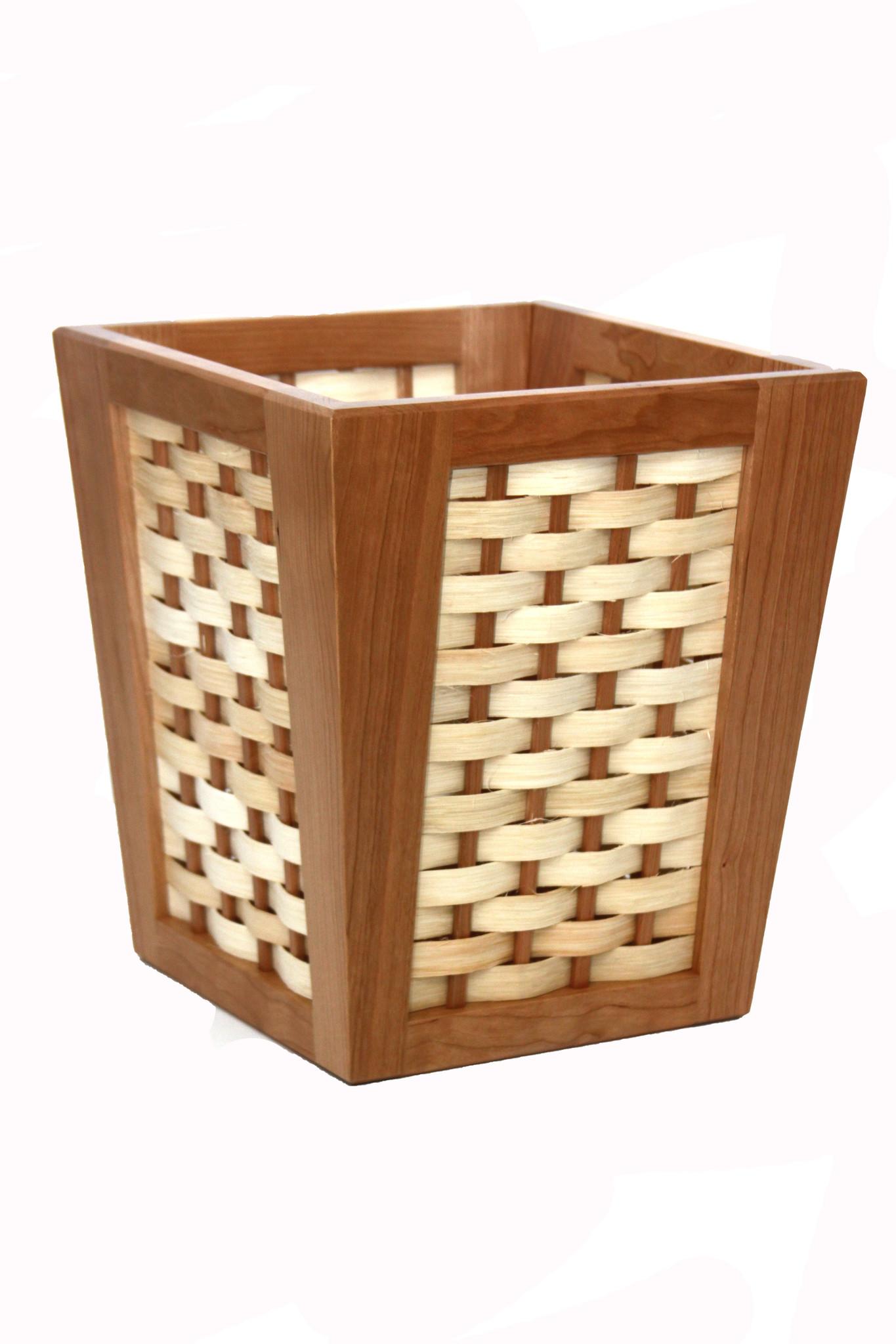 4 Square Basket Cherry-1